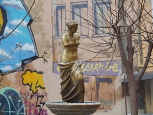 В центре Одессы можно увидеть миниатюрную Венеру Милосскую (ФОТО)