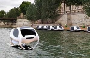 Летом в Париже пустят речные такси на воздушной подушке