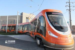 В китайской провинции Шаньдун открылось движение по первой трамвайной линии города Циндао