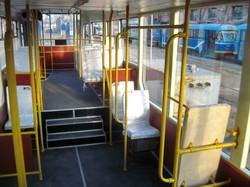 Очередной новый одесский трамвай выходит на линию вокруг центра города