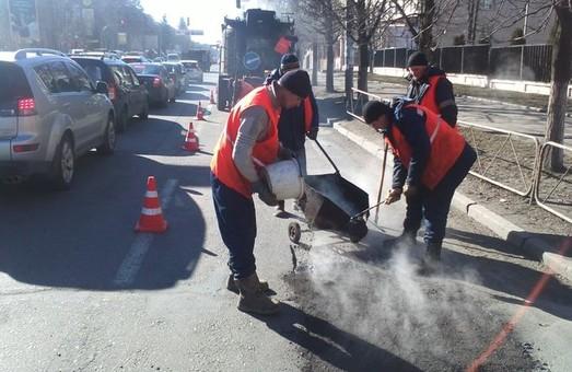 В Киеве начался масштабный ремонт дорог