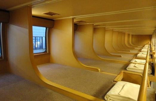 Как выглядят вагоны-спальни в японских поездах