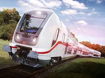 Канадская компания Bombardier строит новые поезда для ФРГ