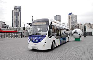 На выставку городского транспорта в Киеве привезли электробусы