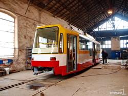 Как в Одессе собирают низкопольные трамваи (ФОТО)