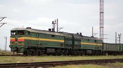 Грузовой состав готовится к отправлению со станции Рени-Наливная в Бессарабскую