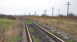 Железная дорога на берегу озера Кагул