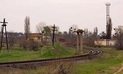Вид в сторону станции Рени от Джурджулешт