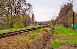 Железная дорога в Рени проходит по берегу Дуная