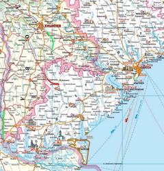 Карта железных дорог юга Одесской области и Молдовы.