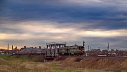Пассажирский поезд Киев - Измаил в Арцизе