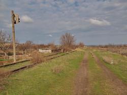 Последний светофор на заброшенном пути к Бессарабской
