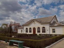 Вокзал станции Басарабяска (Бессарабская, Лейпцигская)