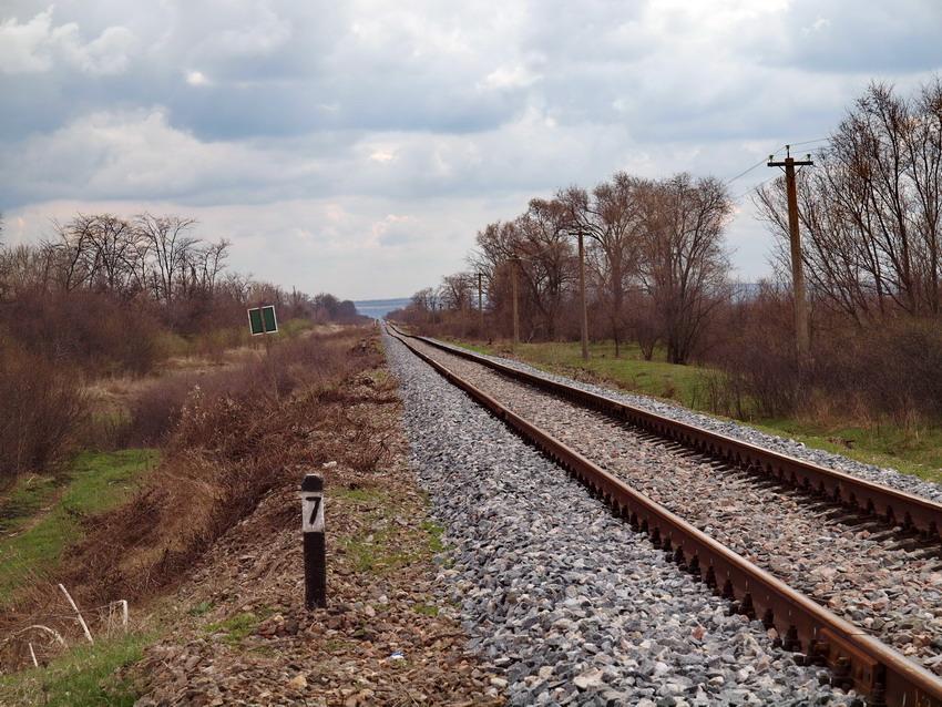 Участок отремонтированного в прошлом году пути между Арцизом и Березино