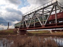 Грузовой поезд идет от Арциза на Измаил