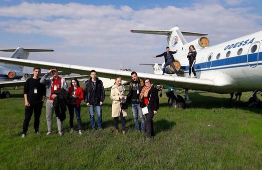 Одесский аэропорт посетили студенты автомобильного колледжа Политеха