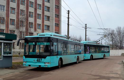 Чернигов объявляет второй за 2017 год тендер на покупку троллейбусов