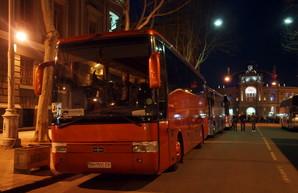 На Пасху одесские автобусы будут работать всю ночь