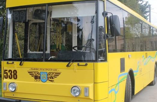 Во Львове продолжают модернизировать старые троллейбусы