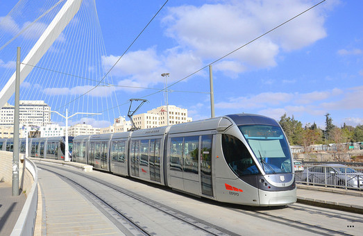 Линию трамвая в Иерусалиме будут продлевать