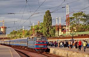 Железная дорога назначает два дополнительных поезда Одесса - Киев на праздники