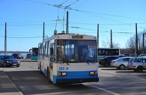 Столица Эстонии закрывает один из маршрутов троллейбуса с заменой на автобусы