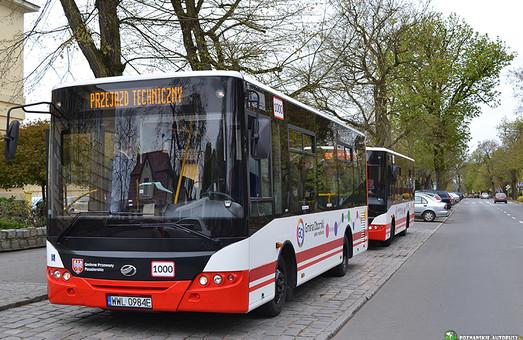 В Польшу поставляют украинские автобусы среднего класса