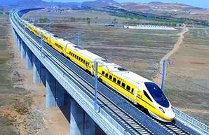 В Китае построили первую высокоскоростную железную дорогу во Внутреннюю Монголию