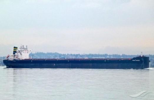 """В порту Южный загрузили """"кейпсайз"""" на 202 тысячи тонн"""