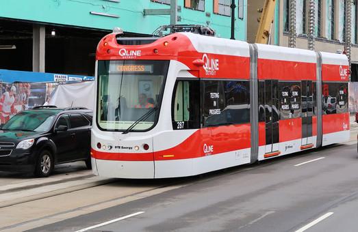 В американском Детройте открылась линия трамвая (ФОТО)