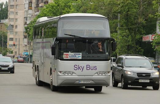 Аэропорт Борисполь увеличивает пропускную способность терминалов за счет автобусов