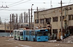Одесский исполком разрешил списать десяток старых троллейбусов