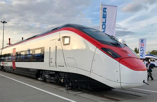 В Швейцарии представили новый скоростной электропоезд