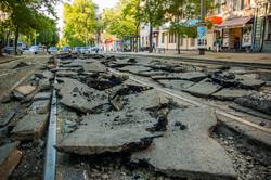 В Одессе продолжается реконструкция линии трамвая на Преображенской (ФОТО)