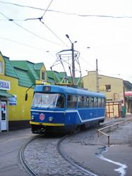 Фото дня: одесский трамвай когда-то ходил на базар