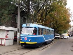 В Одессе трамвай раньше заезжал на базар (ФОТО)