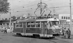 """Фото дня: трамвайные задворки одесского """"Привоза"""" на закате СССР"""