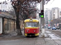 Фото дня: одесский трамвай на Балковской, которого больше нет