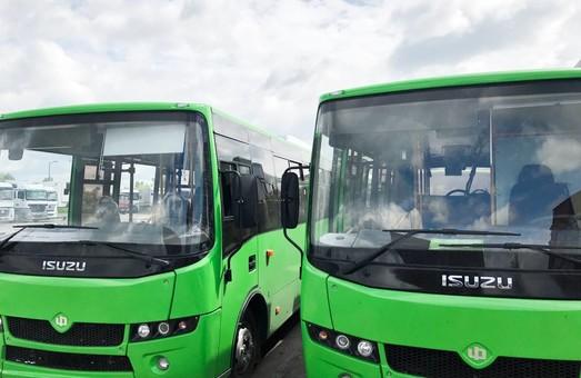 """Мукачево получило новые автобусы """"Атаман"""" (ФОТО)"""