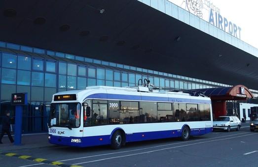 В Кишиневе запустили аккумуляторный троллейбус в аэропорт