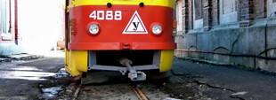 Фото дня: остаток узкоколейного трамвая в Одессе