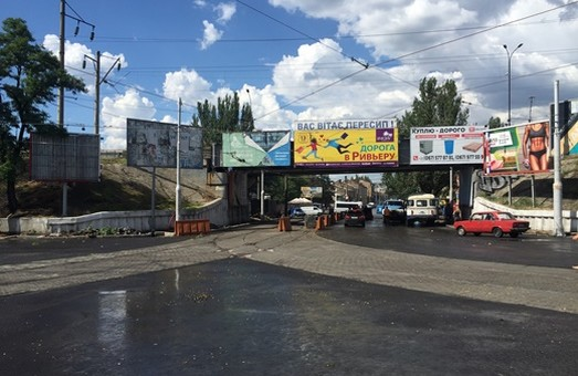 Нюансы временной схемы движения под Пересыпским мостом в Одессе