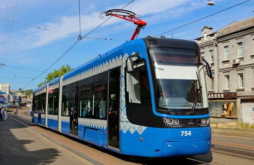 Киевские планы по развитию трамвая: скоростная линия до Дворца спорта, ремонты и новые вагоны