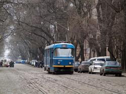 Фото дня: американские горки одесского трамвая