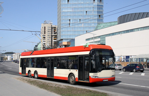 Вильнюс обновляет свой троллейбусный парк на почти 16 миллионов евро