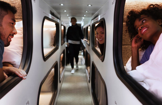 Между Лос-Анджелесом и Сан-Франциско запускают спальные автобусы