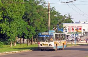 В Лисичанске прекратилось движение троллейбусов за долги