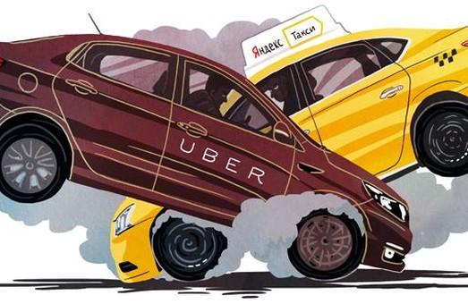 Российский бизнес поглотил такси Uber во всем бывшем СССР кроме Украины