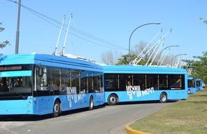 В Аргентине запустили новую линию троллейбуса в Росарио (ФОТО)