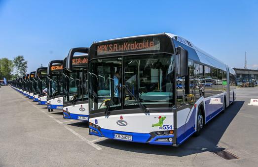 В Краков поставили 77 новых автобусов Solaris Urbino 18 (ФОТО)